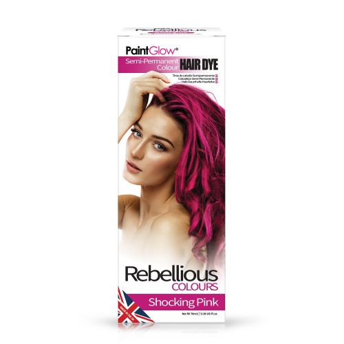 Shocking Pink - Semi Permanent Hair Dye 70ml